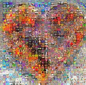 trauma informed mosaic heart